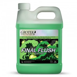 Final flush - Green Apple