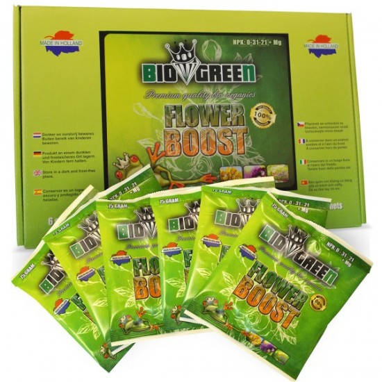 Flower Boost - Bio Green