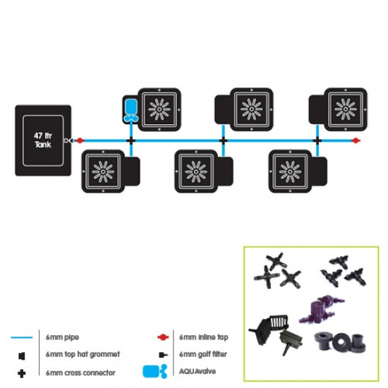 6Pot - Autopot System