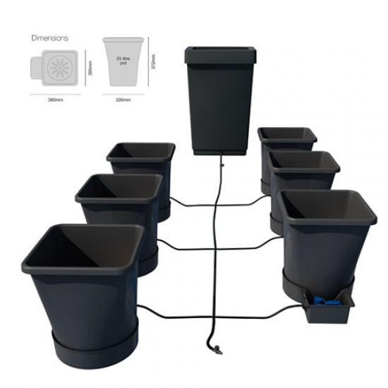 6Pot XL - Autopot System